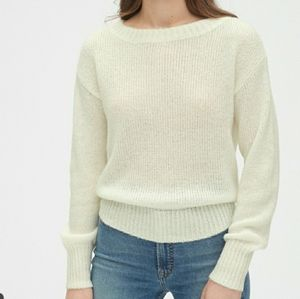 NEW J. Crew Linen Blend Pullover Sweater Size L